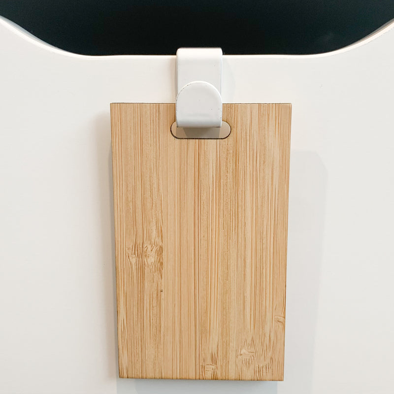 Drawer Hook & Tag (without label)