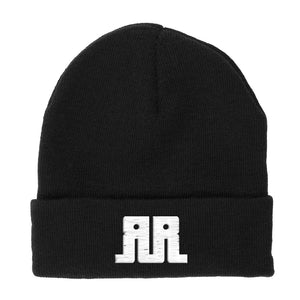 Rostrum Records Logo Flip Beanie
