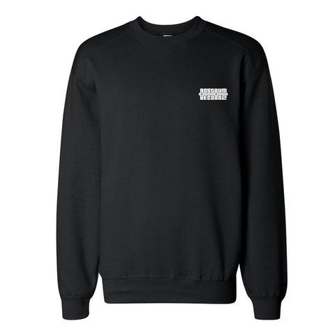 Logo Crewneck Sweatshirt in Black/White