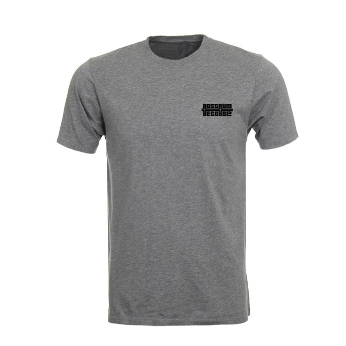 Logo Crew Neck T-Shirt in Heather Gray