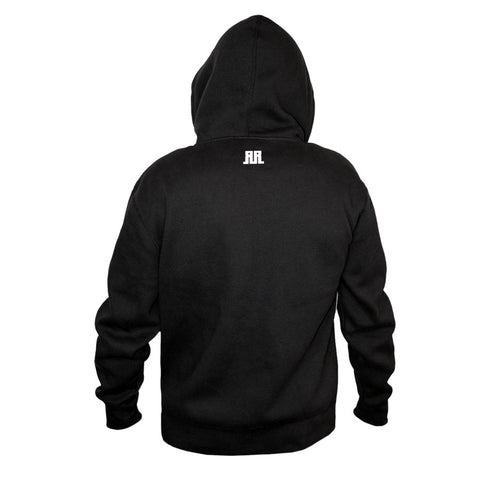 Rostrum Records Logo Hoodie Back