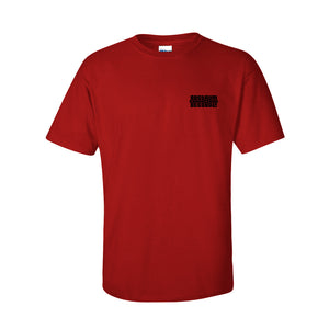 Logo Crew Neck T-Shirt in Red