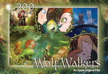 Load image into Gallery viewer, WolfWalkers 200 piece kids puzzle