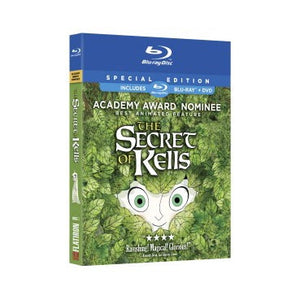 The Secret Of Kells; Blu Ray Combo Pack (Region 1)