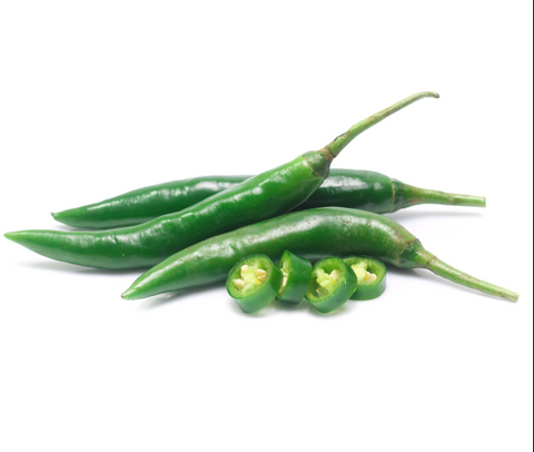 Green Chillies - (100 gms)