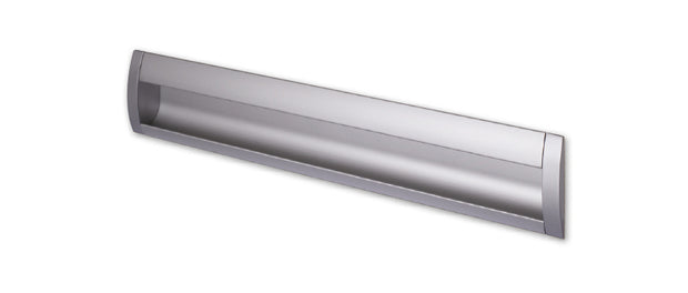 Contemporary Inset:-  Finish: Satin Chrome:-   Hole Centre: 480mm,