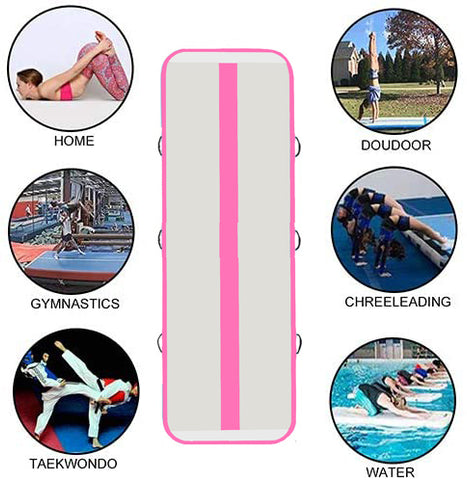 Funwater Inflatable Gymnastic Air Track 10'×39