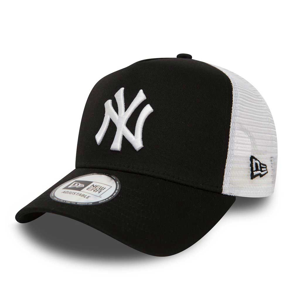 New Era Clean Trucker New York Yankees Blk Sapka