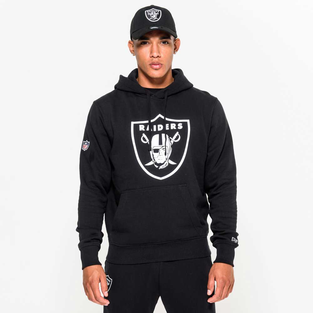 Team Logo Po Hood Oakland Raiders Blk