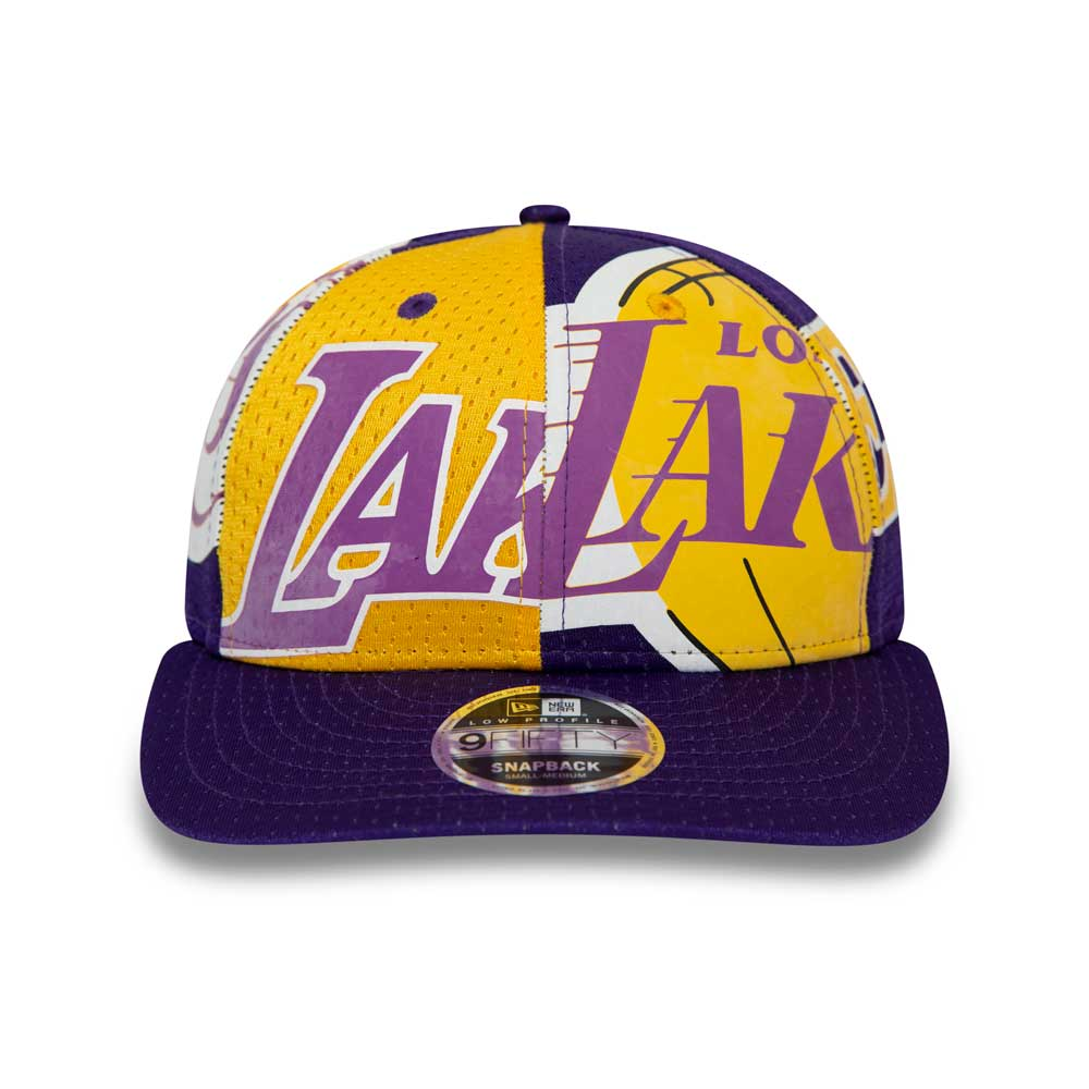 NBA All Over Low Profile 9FIFTY Los Angeles Lakers
