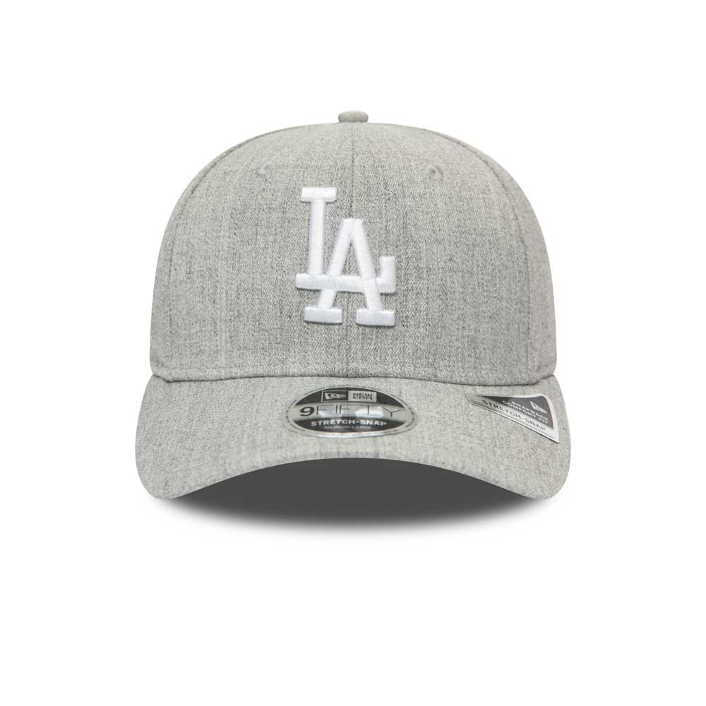 Heather Base 9FIFTY Stretch Snap Los Angeles Dodgers