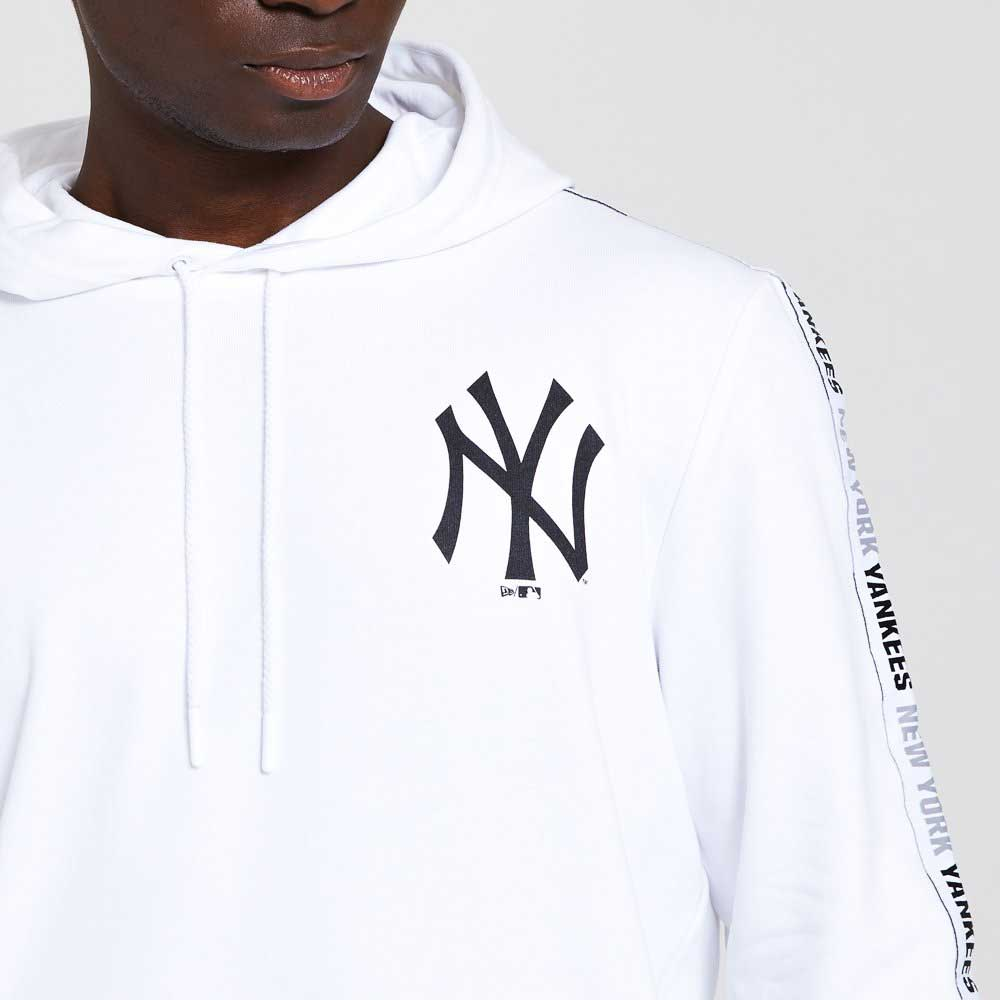 MLB Sleeve Taping Po Hoody New York Yankees Whi