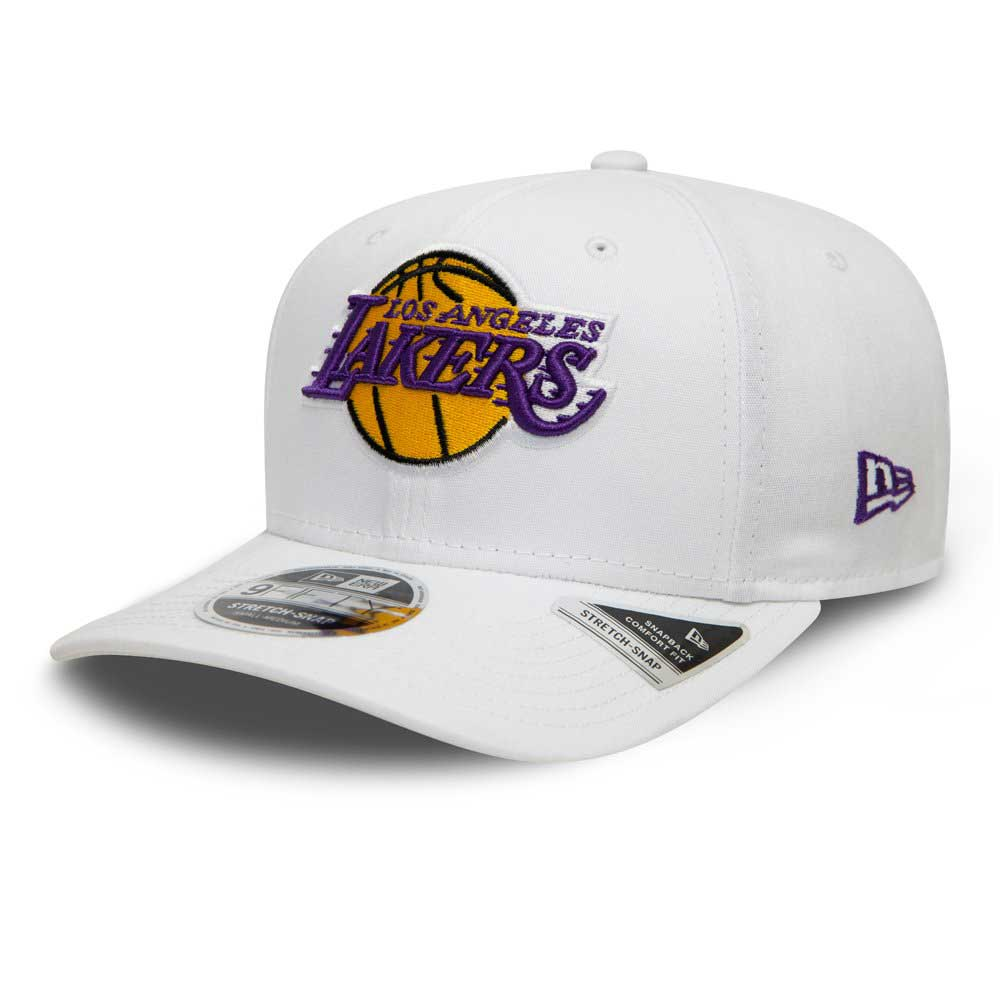 White Base 9FIFTY Stretch Snap Los Angeles Lakers