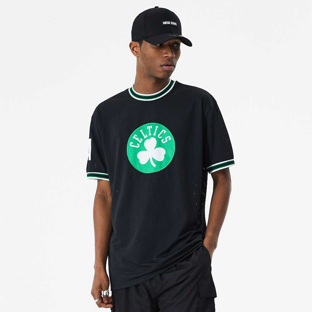 NBA Oversized Applique Tee Boston Celtics Black