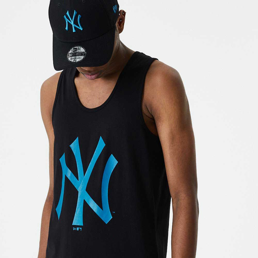 MLB Seasonal Team Logo Tank New York Yankees BLKDTL
