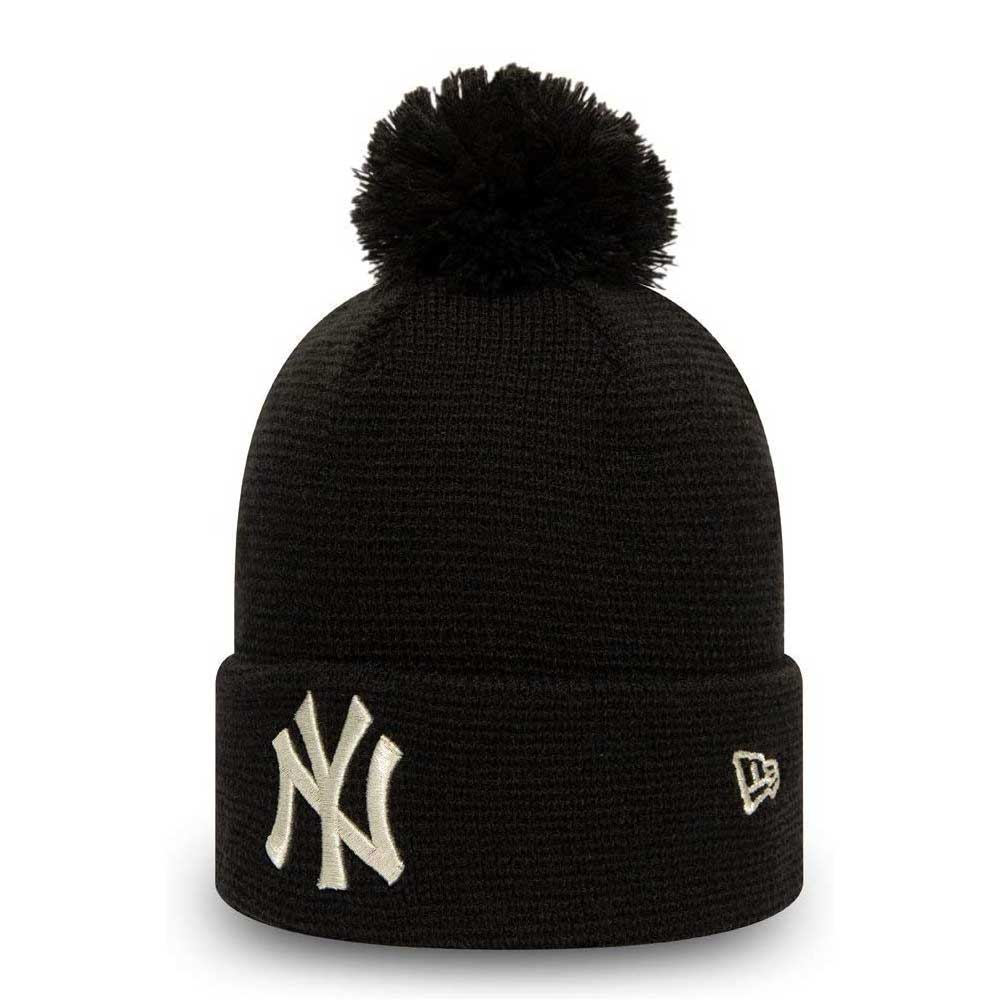 Wmns Bobble Cuff Knit New York Yankees Blk