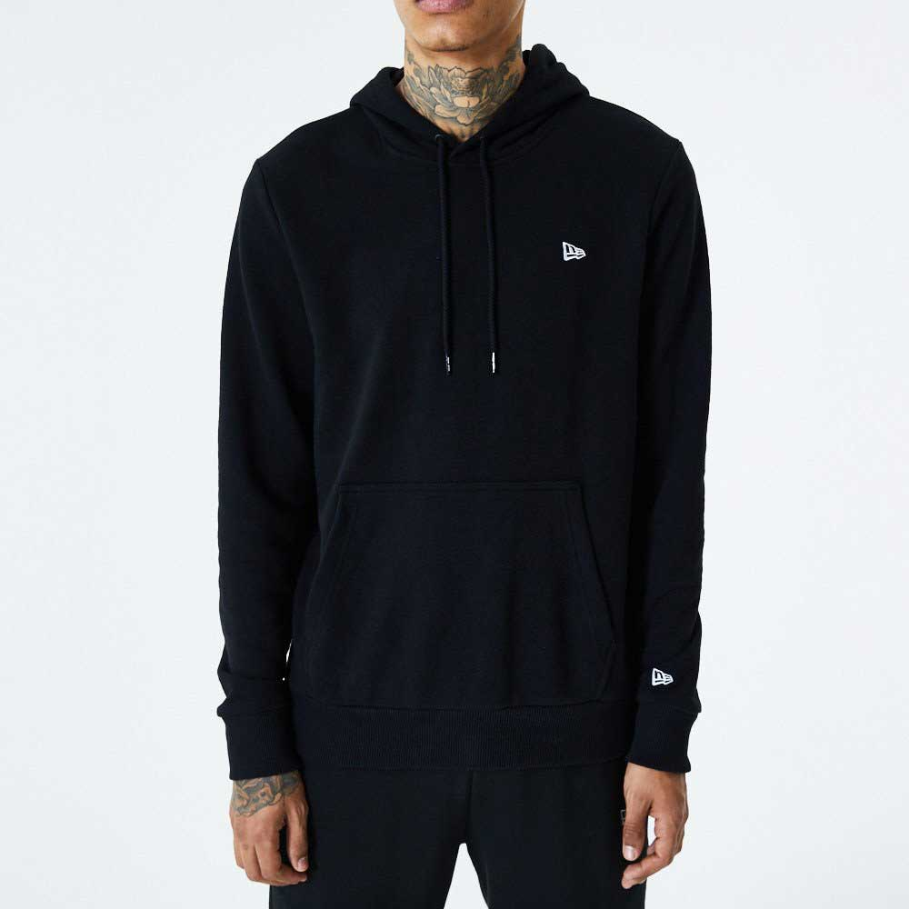 NE Essential Flag Hoody Black
