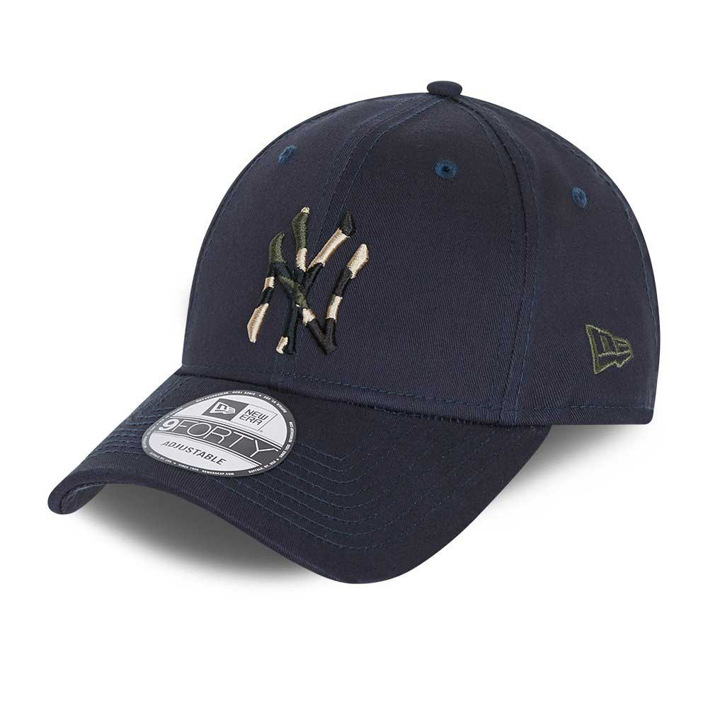 New Era Camo Infill 9FORTY New York Yankees Sapka