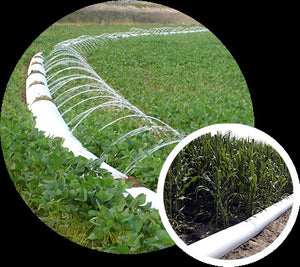 CLOSED LOOP RECYCLING OF IRRIGATION TUBING