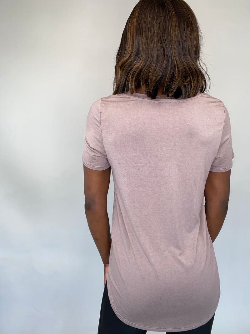 Relaxed V-Neck Tee