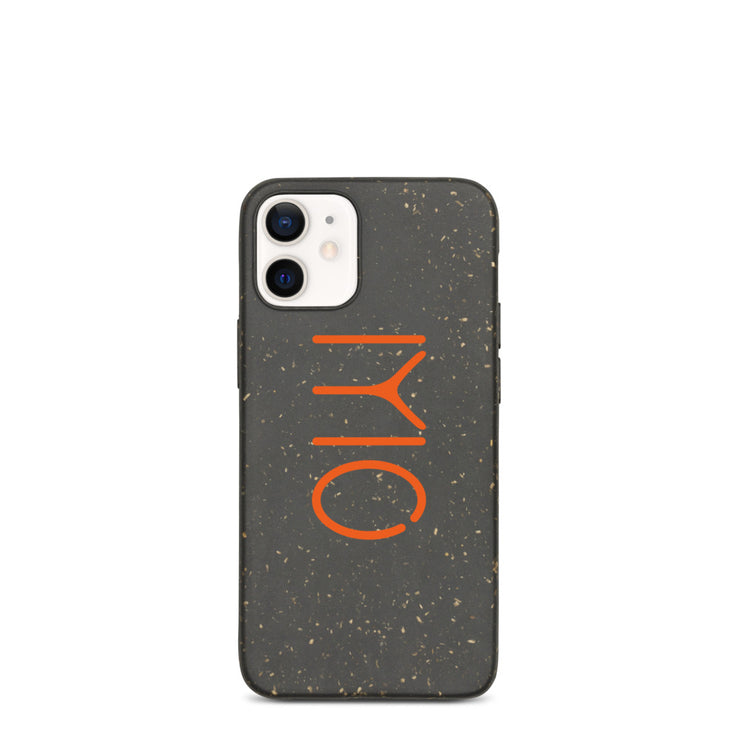 Orange Kayi Eco-iPhone Case (6288698376377)