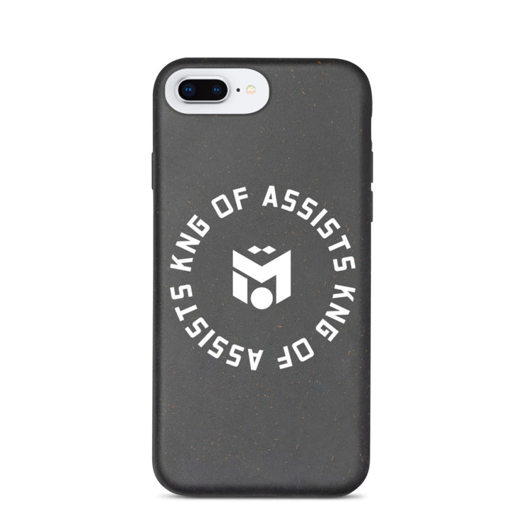 White King of Assists Eco-iPhone Case (6288650600633)