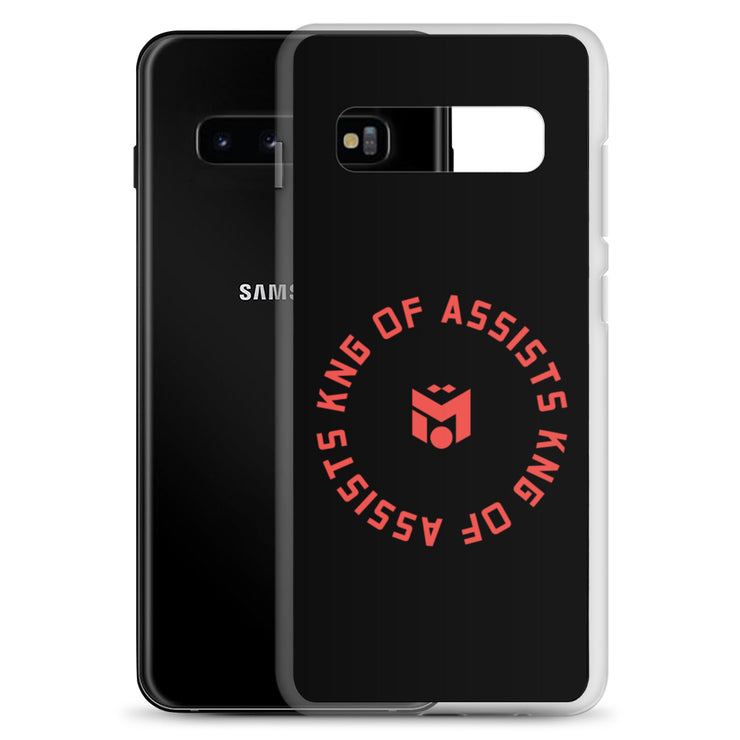 Red King of Assists Samsung Case (6288734781625)