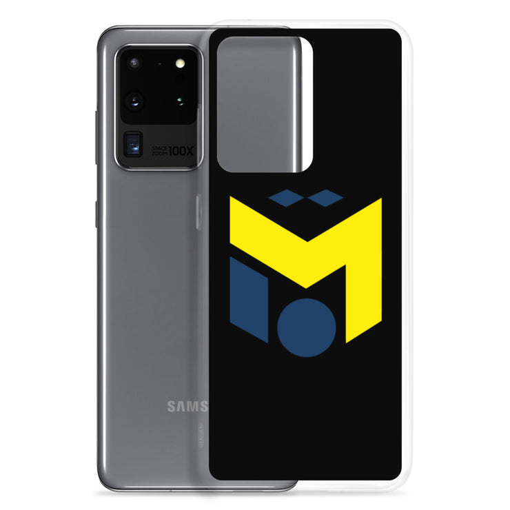 Yellow & Navy M10 Samsung Case (6292190527673)