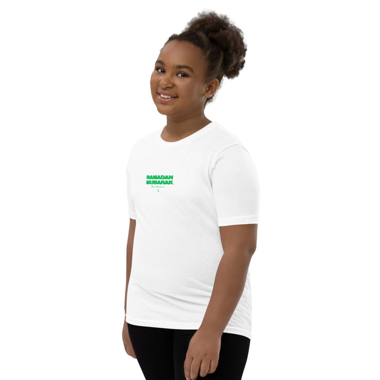 Kids Green Ramadan Mubarak T-Shirt