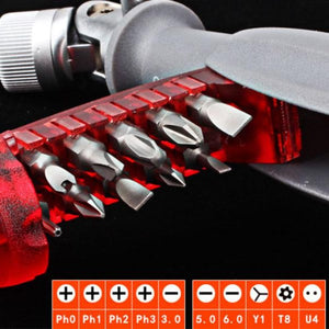 (🔥50% OFF-New Year new tools)11 in 1 Multi-function Ratchet Screwdriver