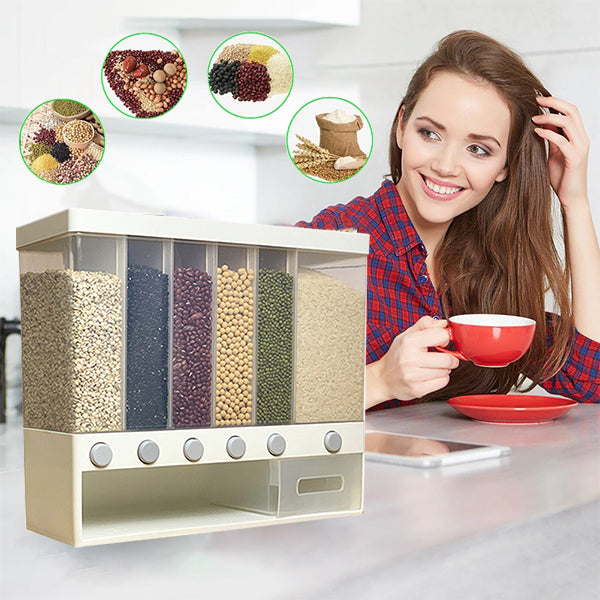 🔥 50%OFF-( Buy 2 Free Shipping )——10 KG Multifunctional Wall Mounted Grain Dispenser