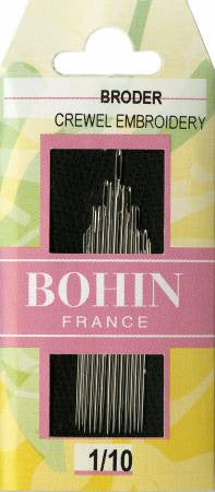 Bohin Assorted Embroidery Needles