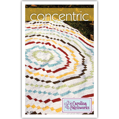 Carolina Patchworks - Concentric Quilt Pattern