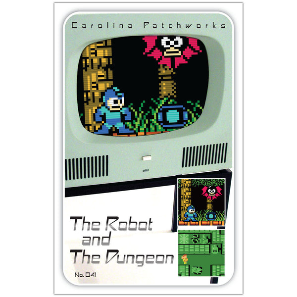Carolina Patchworks - Videogame Series: The Robot & The Dungeon Quilt Pattern