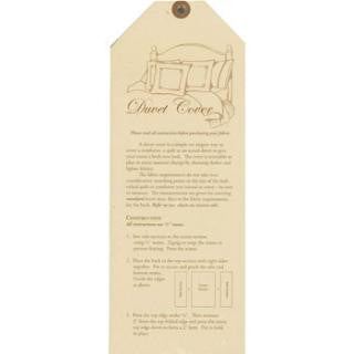 Moda Home - Duvet Cover Pattern
