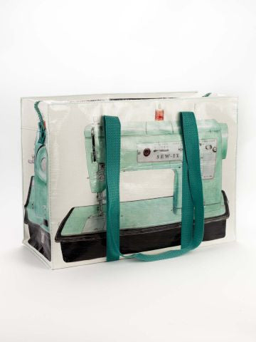 Blue Q Zippered Project Bag - Sewing Machine