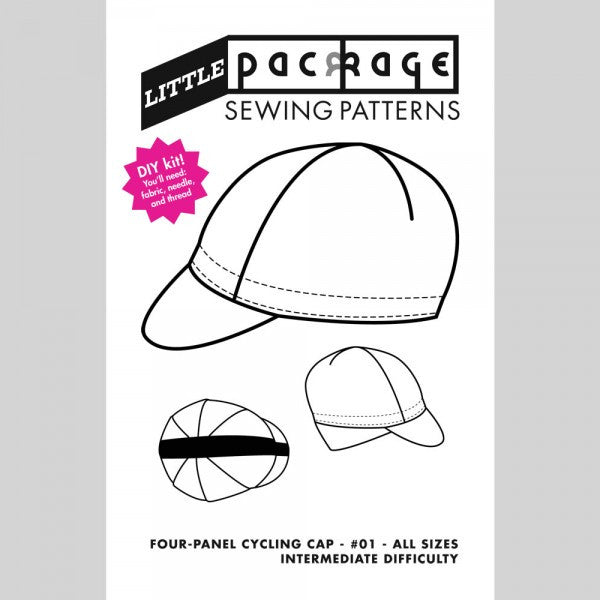Little Package 4-panel Cycling Cap Pattern