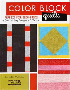 Color Block Quilts by Judith McCabe