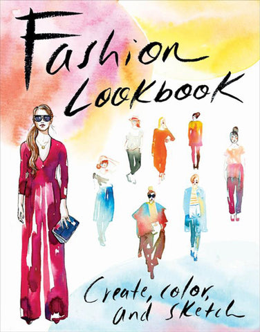Fashion Lookbook: Guided Activity Journal