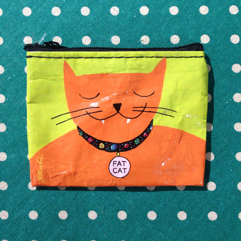 Blue Q - Fat Cat Coin Purse