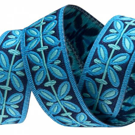 Blue Filigree Ribbon