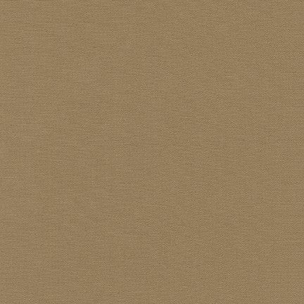 Robert Kaufman Fineline Twill, Light Brown - $12/yard