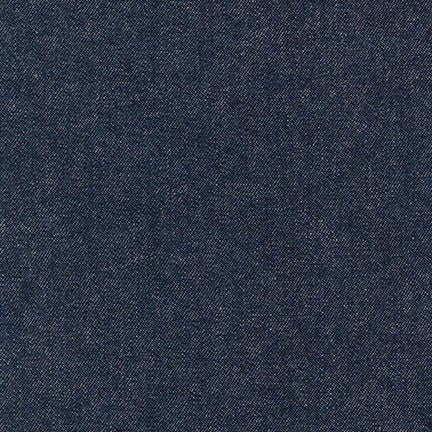 Robert Kaufman 8oz Denim Indigo - $12/yard