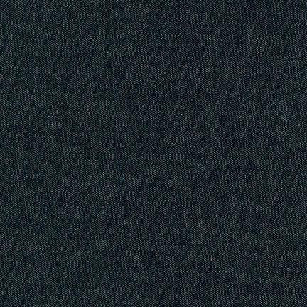 Robert Kaufman 8oz Denim - Black Wash - $12/yard