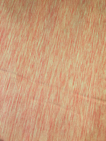 100% Silk taffeta in Coral and Cream - $20/Yard