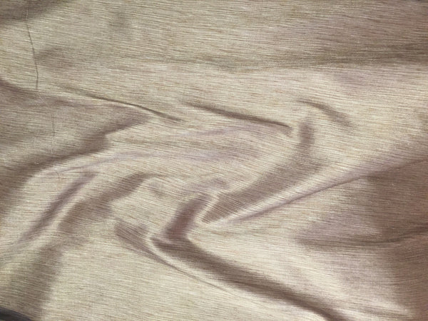 100% Silk taffeta in Tan and Beige - $20/Yard