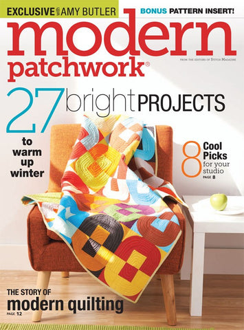 Modern Patchwork Magazine -  Winter 2015
