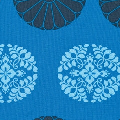 Amy Butler Cameo - Pressed Flowers, Cobalt - $10.60/yard