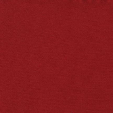 Radiance Silk/Cotton Blend by Robert Kaufman in Crimson - $17/yard