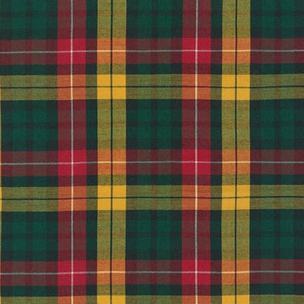 House of Wales Plaid by Robert Kaufman, Multi - $12/yard